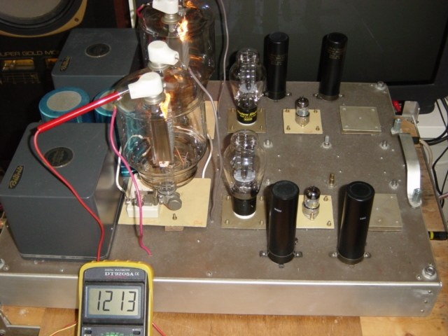 833A Single End Amp / Pictures | TTRadio