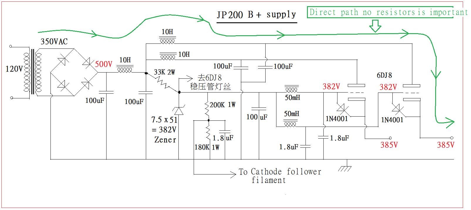 Clone JADIS JP200 tube preamp | TTRadio